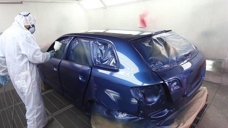 Entrenamiento para pinturas de vehículos