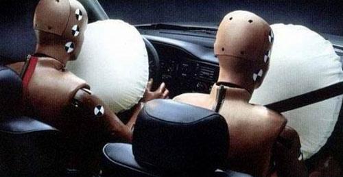 Las bolsas de aire como seguridad en el vehículo